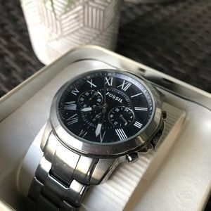 Men's Fossil Grant Chronograph Watch